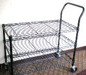 3 Tier Cart. Also available in gray.