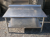 4-Foot Stainless Steel Equipment Stand