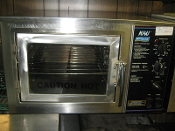Nu-Vu Moving Air Convection Oven