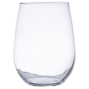 Libbey 221 17 oz. Stemless White Wine Glass