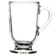Libbey 5304 10.5 oz. Irish Glass Coffee Mug