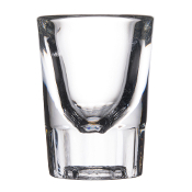 Libbey 5127 1.5 oz. Fluted Whiskey / Shot Glass