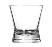 Libbey 11162020 Glass - Biconic Double Old Fashion Glass, 9-1/2