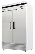 NEW 2 Door Commercial Refrigerator - Bottom Mount