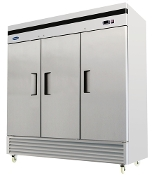 NEW 3 Door Commercial Refrigerator - Bottom Mount