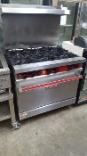 Vulcan 36 inch Range with Convection Oven
