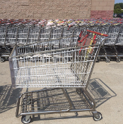 Used Metal Shopping Carts