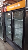 True Glass Door Freezer